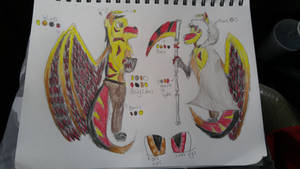 The Fallen Angel, Reference sheet