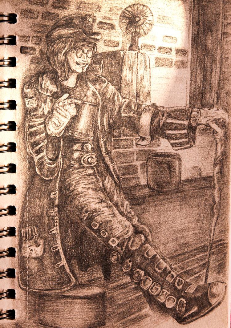 Jack Sparrow by AeroMuse