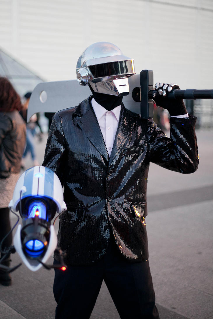 Daft Punk London October MCM 25th-27th 2013 Pic#6 by TheOcarinaPlayer