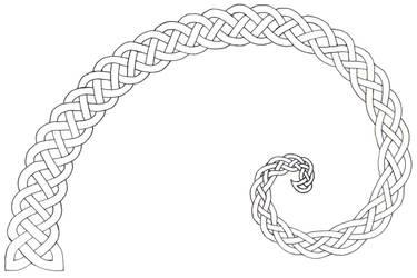 Nautilus Shell Knot