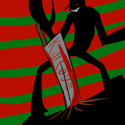 Freddy vs Pyramid Head by Carbonated-James