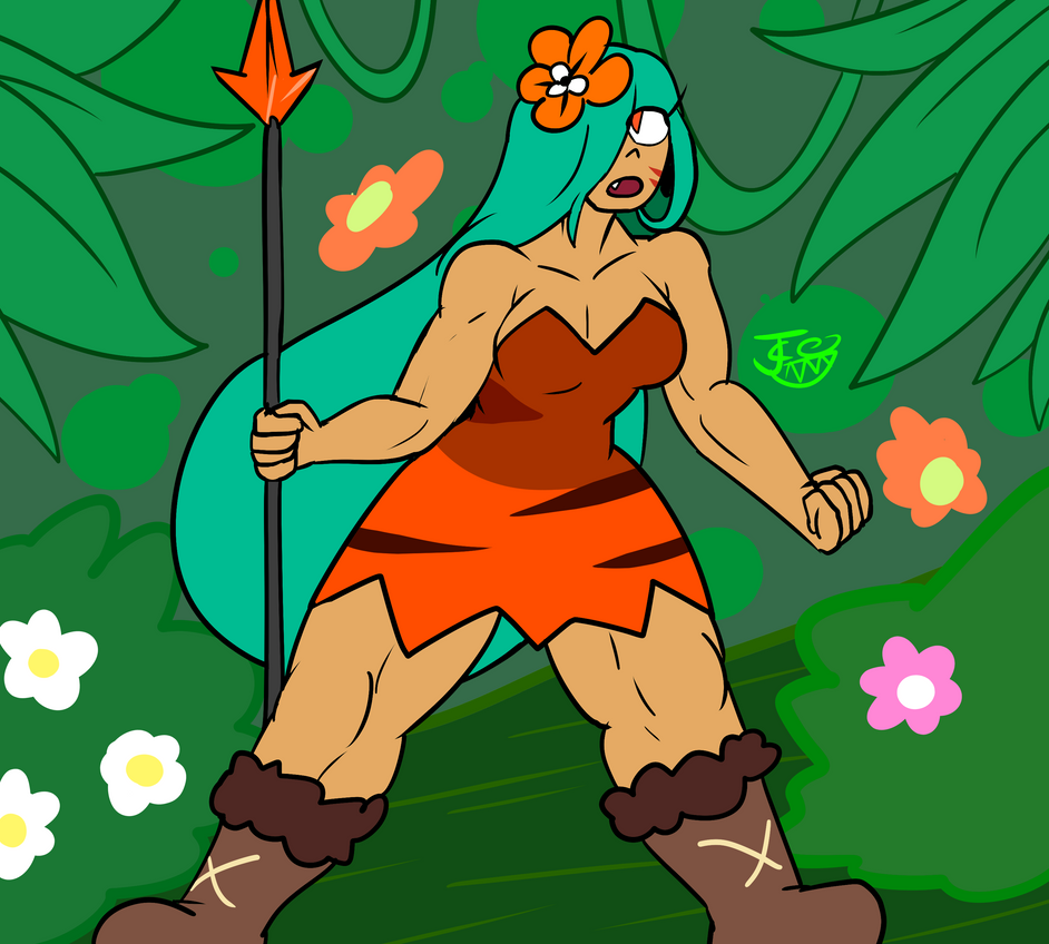 Amazon of the Jungle - Lily Cookie by Carbonated-James