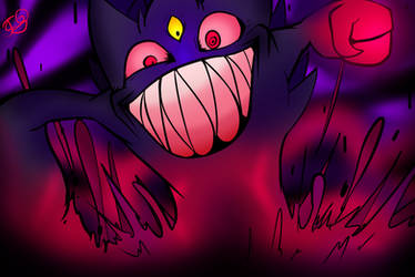 You face the Mega Gengar! by Carbonated-James