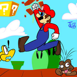Him Mario by Carbonated-James