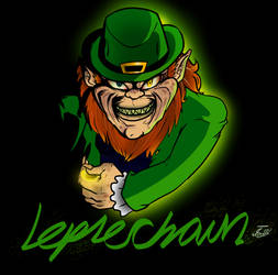 Lubdan the Leprechaun by Carbonated-James