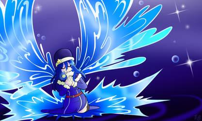 Juvia the lil water angel