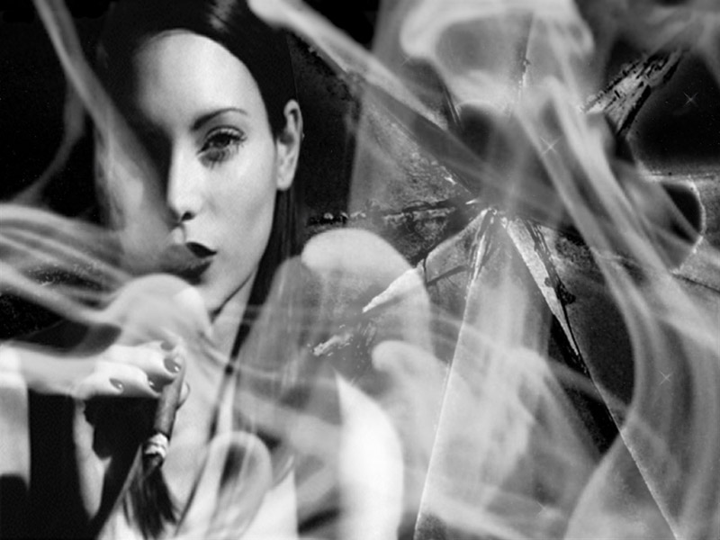Girl Smoking By Kozanii On Deviantart