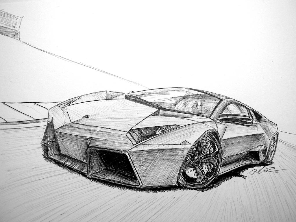 Lamborghini Reventon by z4kk00 on DeviantArt