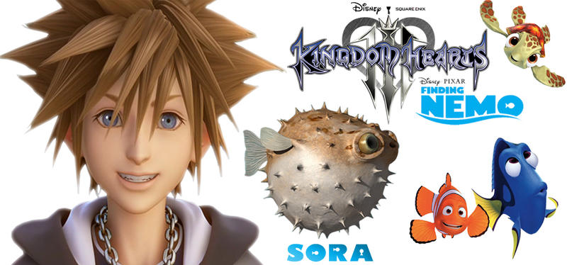 Sora as Puffer Fish by mediodia91