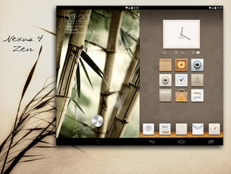 Nexus 4 Zen by PhilDesire