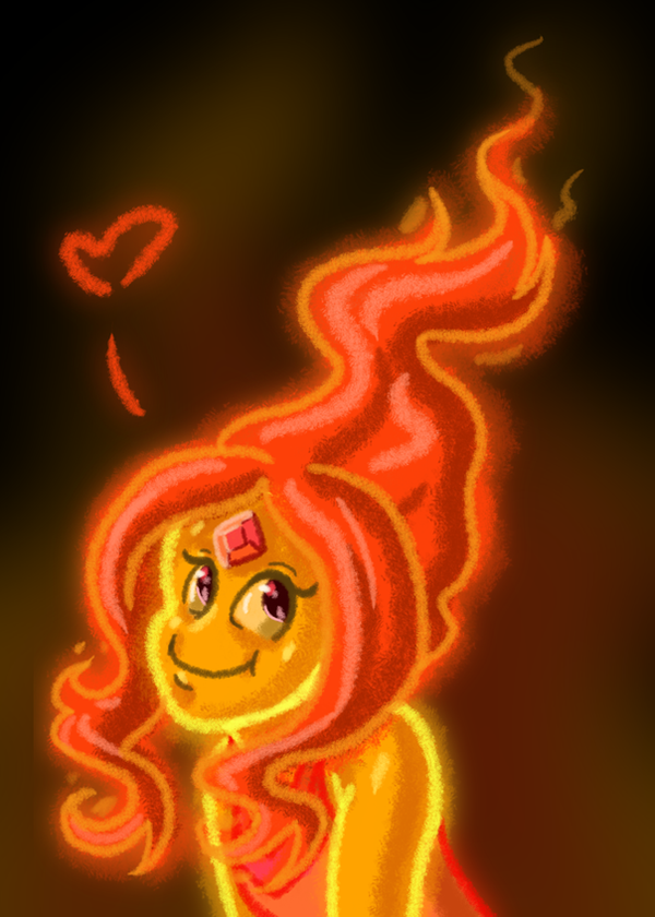 Oh Flame Princess... by Lou0