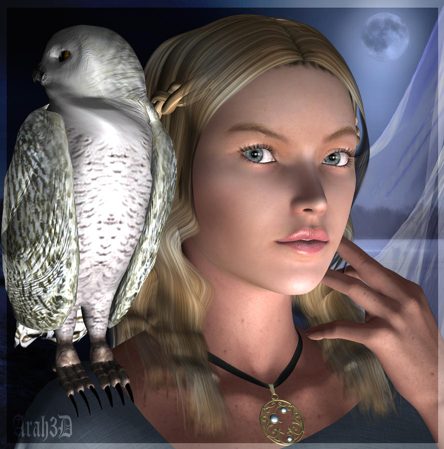 The Maiden and the Owl by Arah019