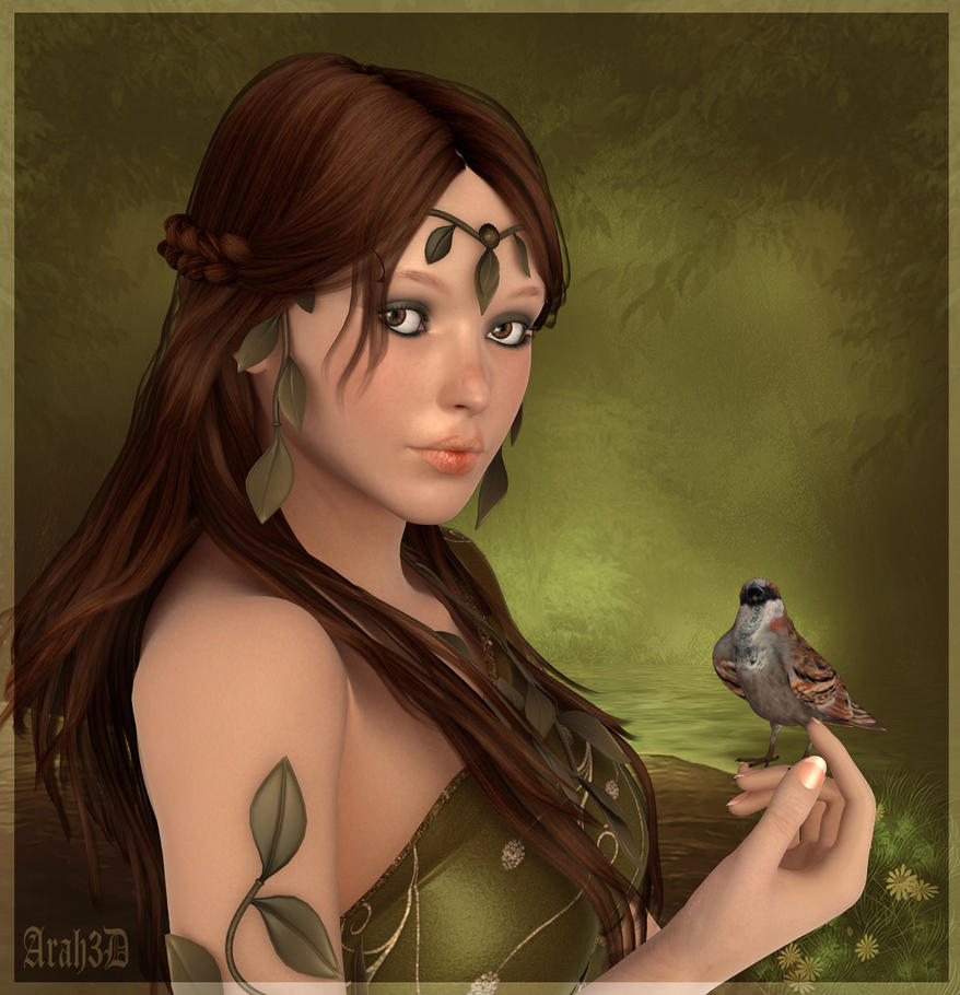 Little Bird by Arah019