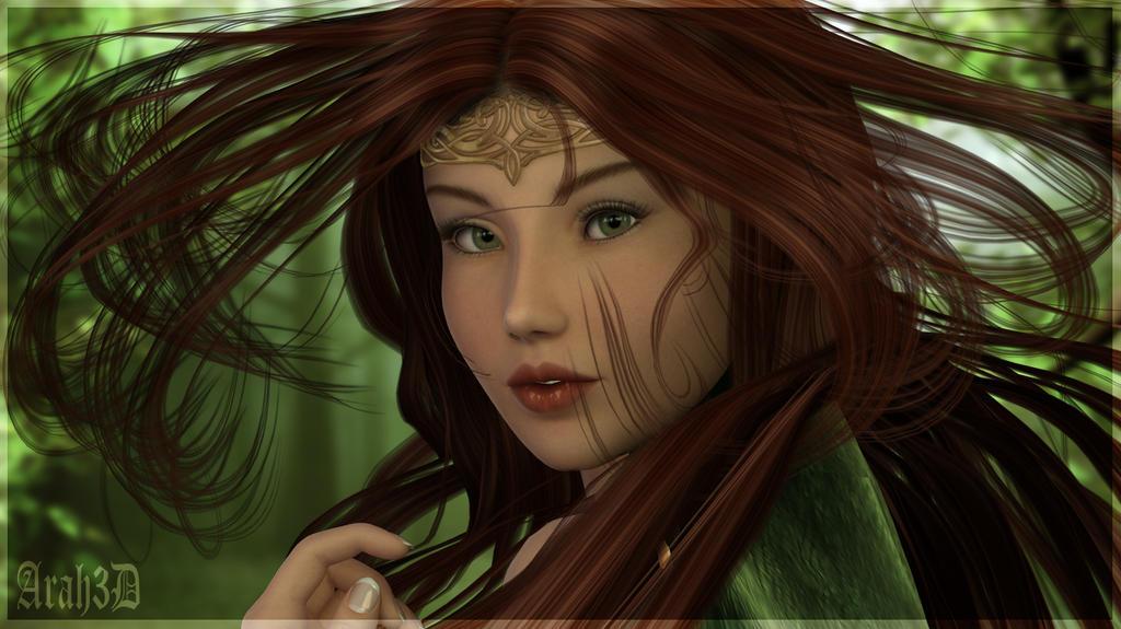 Green Eyes by Arah019