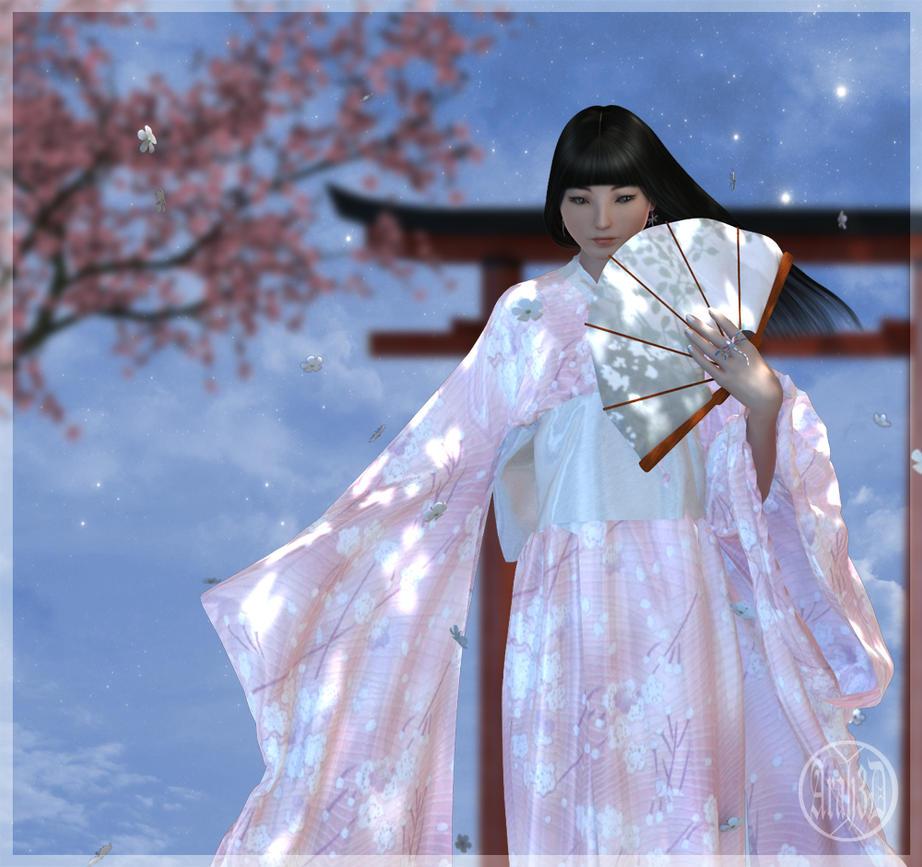 Sakura Moon by Arah019