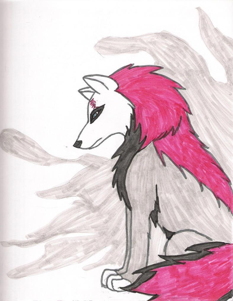 Gaara wolf by KichWahya on DeviantArt Gaara As A Wolf