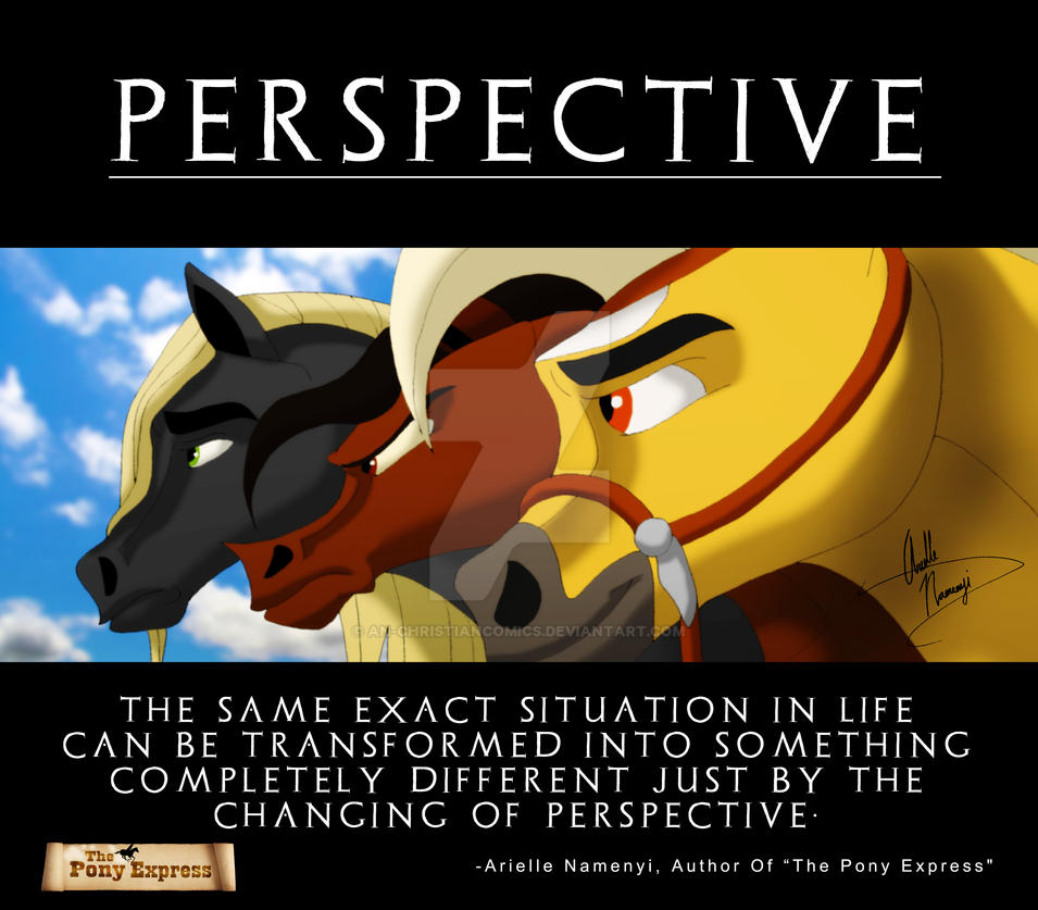power of perspective Find out what viewpoints these greats have on perspective.