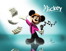 My Friend Mickey by AN-ChristianComics