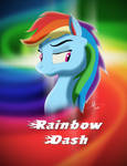 Rainbow Dash Disney Style
