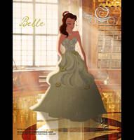 Belle in Alfred Angelo Dress