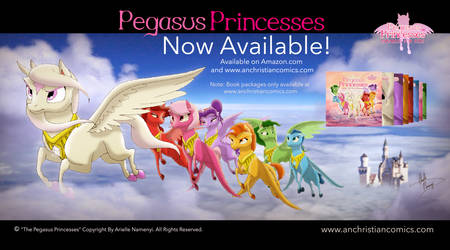 Pegasus Princesses Now Available!