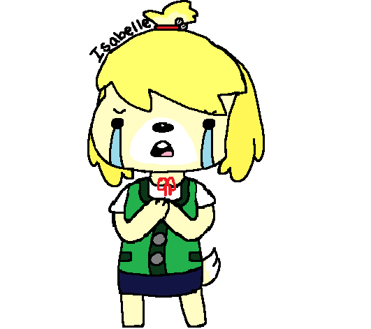 Isabelle(Animal Crossing:New Leaf) by fairySenpi on DeviantArt