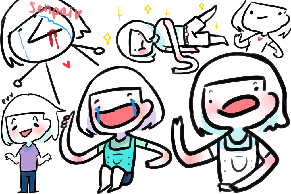 just me with weird faces and such png by fairysenpi on deviantart