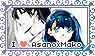 Stamp | Asano x Mako by BluAjisai