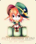 Happy Birthday Ocono! .2016 [+SpeedPaint]