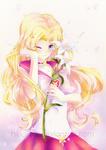 Happy Birthday Suzie! + [speedpaint] by BluAjisai