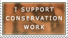 Support Conservation Stamp by iJemz