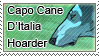 Capo Cane D'Italia Hoarder Stamp by iJemz