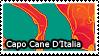 Capo Cane D'Italia Stamp by iJemz