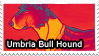 Umbria Bull Hound Stamp by iJemz