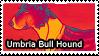 Umbria Bull Hound Stamp by iJemz
