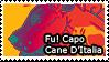Fu! Capo Cane D'Italia Stamp by iJemz