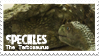 Speckles The Tarbosaurus Movie Stamp by iJemz