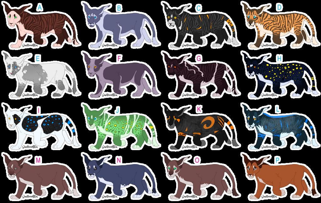 [Umbra-Sumus] Adoption Center Cubs (Batch 2) by iJemz