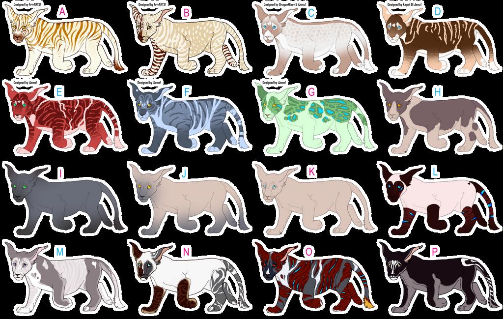 [Umbra-Sumus] Adoption Center Cubs (VDay Raffle) by iJemz