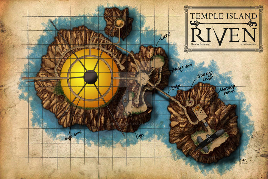 Temple Island Map by JonasEklundh