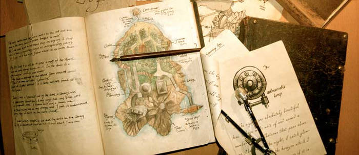 My Analogue Myst Book