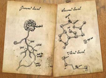 Channelwood map