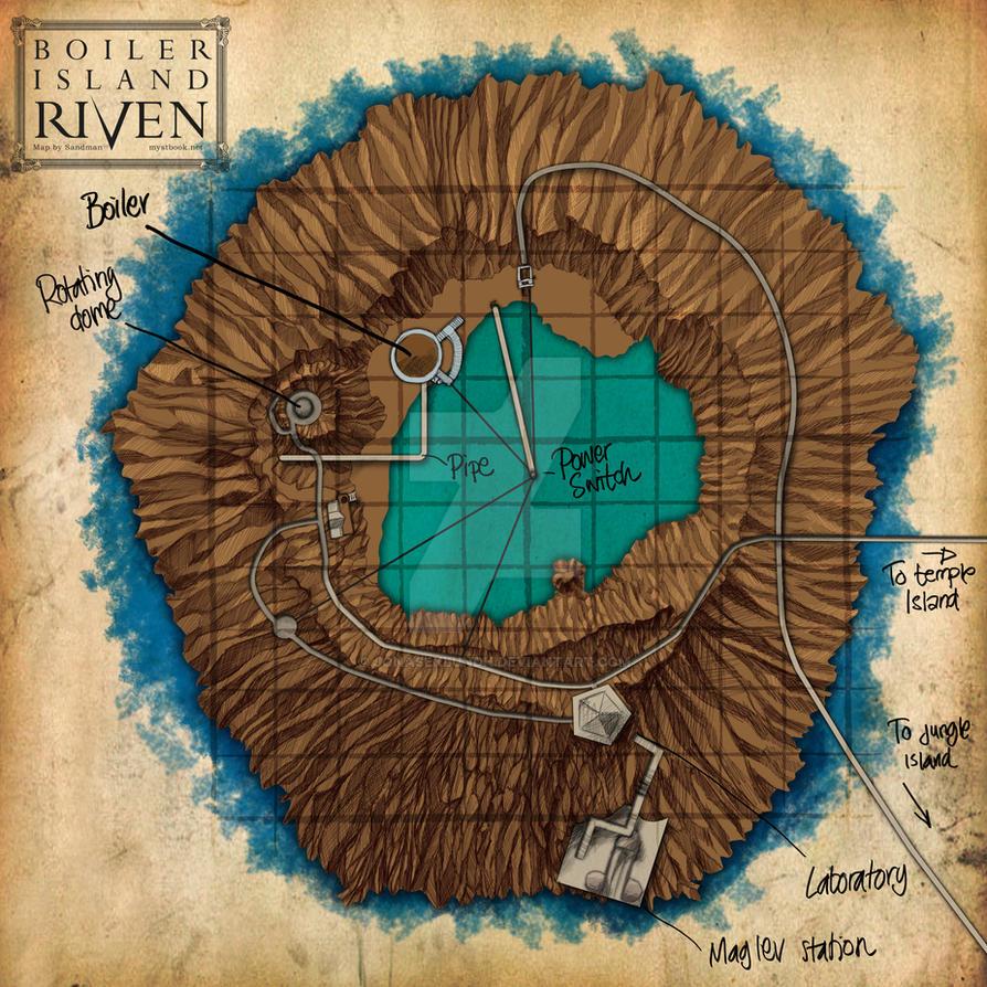 Riven: Boiler Island by JonasEklundh