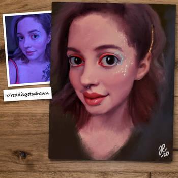 #redditgetsdrawn portrait