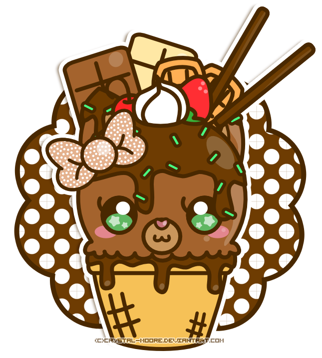 Foxy Fudge Ice Cream Ver. 2 by Crystal-Moore