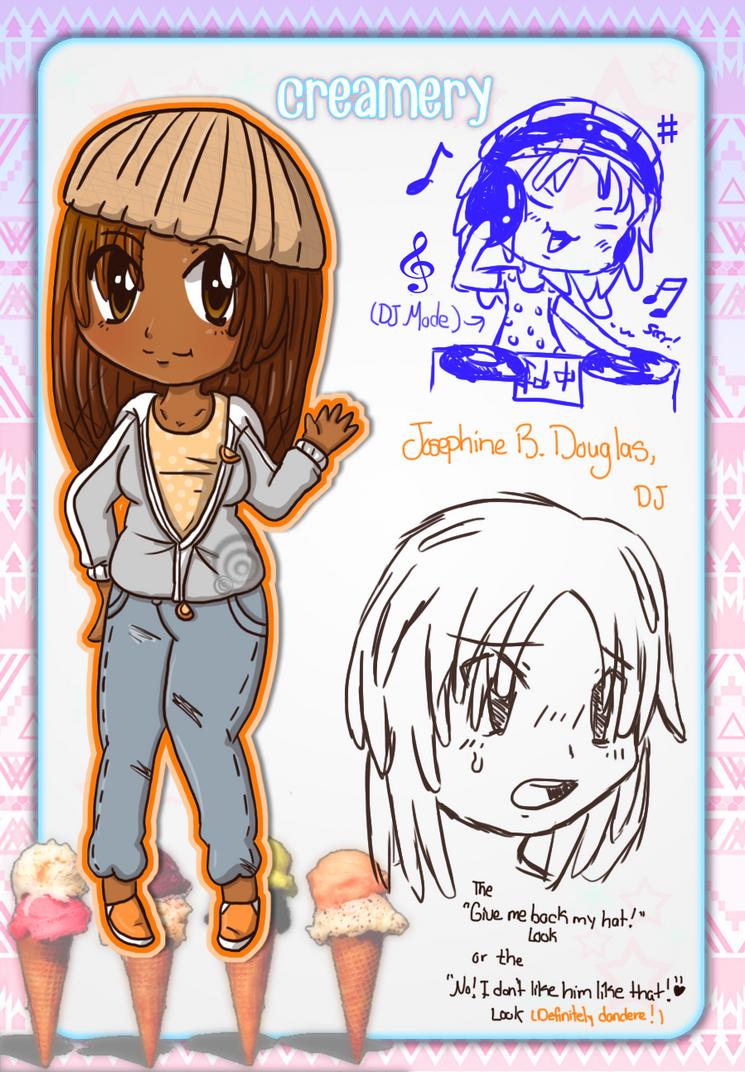 Creamery App: Josephine B. Douglas by Crystal-Moore