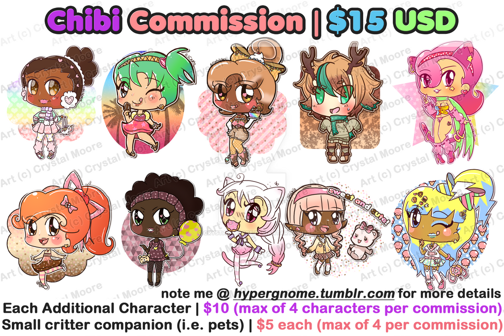 NEW Chibi Commission Info 6-14-16 by Crystal-Moore