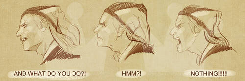 Cicero Face Drawings