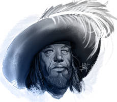 Barbossa by zombiebreton