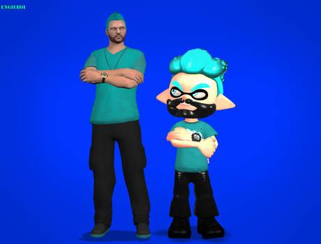 Splatoon: look alike